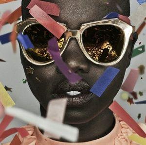 Karen Walker Gold 💛 Number One Sunglasses
